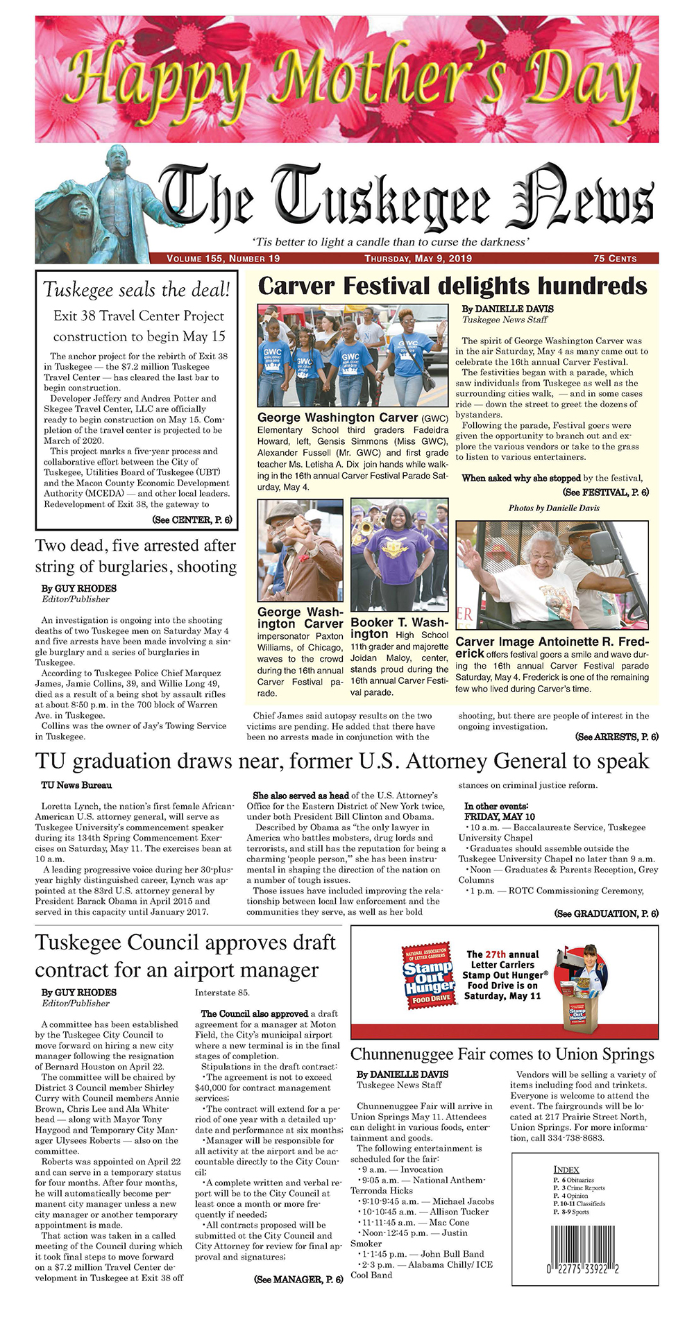 The Tuskegee News - Tuskegee seals the deal!